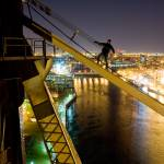 """Urban Mountaineering: Queensboro Bridge"" by undercity"