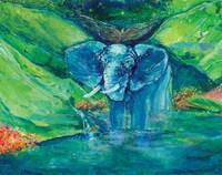 Bathe me in Thy Light Elephant 3