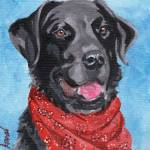 """Black Lab"" by TerryStanley"
