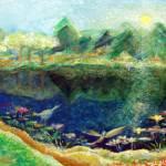"""""""Lotus Lake"""" by ArtSamadhi"""
