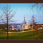 """Palmyra, New York, LDS Temple"" by dbwalton"