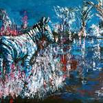 """Moonlight Zebra"" by claudemarshall"