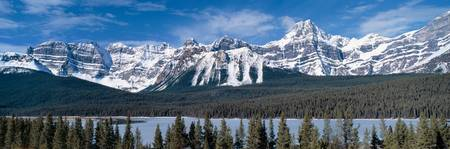 Rocky Mountains,Alberta,Canada
