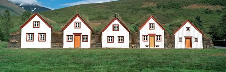 Iceland historic houses