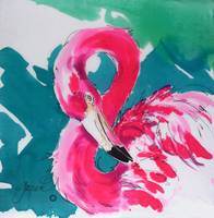 Fabulous Flamingo Print