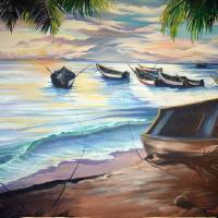 HOME FROM THE SEA Art Prints & Posters by KARIN DAWN BEST