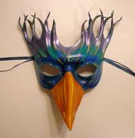 Bird Leather Mask by Teonova