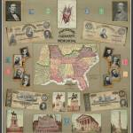 """Days Long Ago Civil War Confederacy Poster C.S.A."" by PaperTimeMachine"