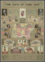 Days Long Ago Civil War Confederacy Poster C.S.A.