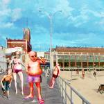 """Asbury boardwalk"" by drfdesigns"