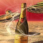 """Champagne on Mars"" by garlanddunston"