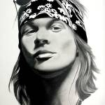 """Axl Rose"" by Makaba"
