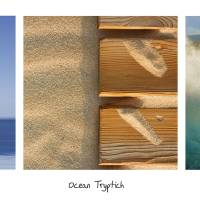 Ocean Tryptich Art Prints & Posters by Alex Bramwell