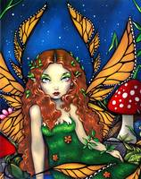 Red Haired Fairy Queen