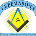 """Masonic Square and Compass"" by MasonicArt"