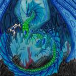 """King of the Ocean Faery Dragons/ James"" by Forsonmeyer"
