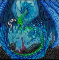 King of the Ocean Faery Dragons/ James