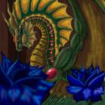 """King of the Land Faery Dragons/ Jasson"" by Forsonmeyer"