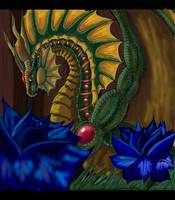 King of the Land Faery Dragons/ Jasson