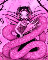 Pink Dragon Fairy