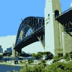 """Sydney Harbour Bridge"" by scruffy"