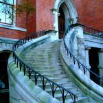 """""""Curved Stairway"""" by chuckbillingsley"""