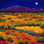 """Midnight Sagebrush"" by jhfineart"