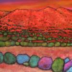 """""""Santa Fe Hills"""" by jhfineart"""