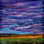 """Stormy Skies Over the Prairie"" by jhfineart"