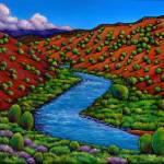"""""""Rambling Rio Grande"""" by jhfineart"""