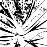 """""""105BW Floral Explosion White"""" by Ricardos"""