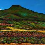 """View From Ghost Ranch"" by jhfineart"