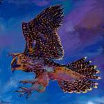 """j harris hawk 4-18-08"" by jhfineart"