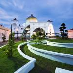 """Malaysia - Mosque in Malacca"" by hockhow"