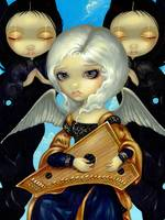 Angel with a Psaltery