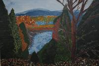An Autumn Day, (Painting) Castlewellan Forest