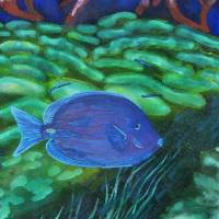 """Blue Tang"" by Susan Ottevanger"