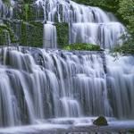 """""""Purakaunui Falls,New Zealand"""" by Leksele"""