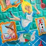 """ALICE IN WONDERLAND"" by GORDONBRUCEART"