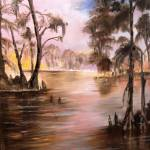 """Louisiana Cypress Bayou"" by arlen"