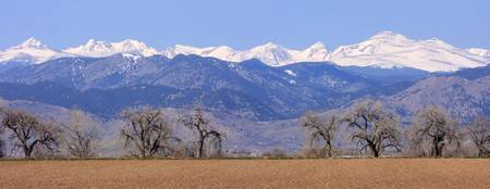 Boulder County April Front Range  Panorama