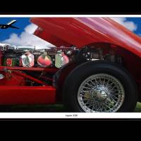 Jaguar XKE Art Prints & Posters by Ken Stewart