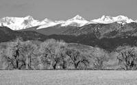 Rocky Mountain BW Views