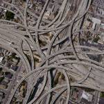 """Complex-Freeway-Interchange-Network"" by johnlund"