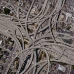 """""""Complex-Freeway-Interchange-Network"""" by johnlund"""