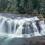 """""""Lower Lewis Falls,Wasington state"""" by Leksele"""