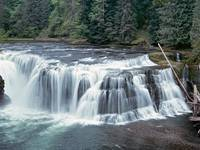 Lower Lewis Falls,Wasington state