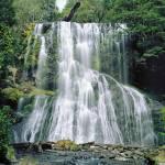 """Bridal Veil Falls,Tasmania,Australia"" by Leksele"