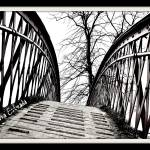"""Bridge black and white"" by auntie_lala1"