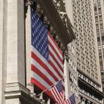 """New York Stock Exchange Flags"" by dennisflood"